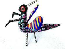 Praying Mantis Alebrije Hand Crafted Oaxacan Wood Carving Oaxaca Mexico