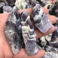 AMETHYST Banded,  tumbled 1/2 lb bulk stones Chevron quartz 30-70mm
