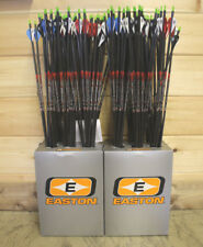 NEW  6 EASTON BLOODLINE 400 CARBON ARROWS 1/2 DOZEN 400 BLAZER VANES
