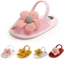 Lovely Infant Inhouse Crawling Summer Sandals Baby Girl SunFlower Crib Shoe 0-18
