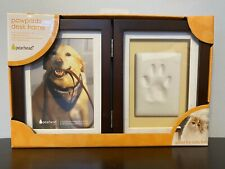 Dog Cat Paw Print Picture Desk Frame Display Pet Memory Pawprints Memorial New