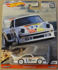Hot Wheels Car Culture Thrill Climbers - Porsche 934.5 rally car - Real Riders