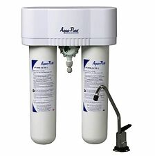 AQUA-PURE - Under Sink Filter Syster- White/Metallic (Model: APDWS1000)... NEW!