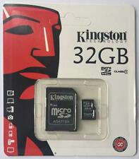 KINGSTON MICRO SD SDHC 32GB MEMORY CARD UHS-1 CLASS 10