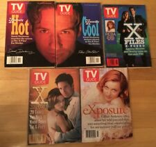 Tv Guides X Files 5 Different 1990's