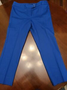 Talbots Size 10P 10 Petities HERITAGE Royal Blue Chine Pants, 22.5 Inseam