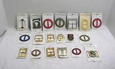 Lot of 19 La Mode Women's Belt Buckles Fashion Accessories Metal & Plastic