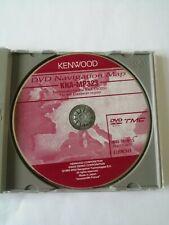 Kenwood KNA-MP323 Car Navigation Map DVD 2003 Mapping for KNA-DV3200