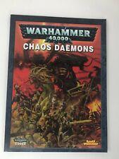 Warhammer 40,000 CHAOS DAEMONS Games Workshop Codex