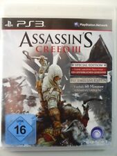 !!! PLAYSTATION ps3 gioco Assassin'S CREED III SPECIAL, usati ma ben!!!