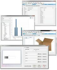 Stock Room Warehouse Box Inventory Barcode Generating Scanning Database Software