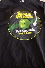 Brian Wilson Beach Boys Celebrate Pet Sounds Tour 2017 T shirt M Short Sleeve