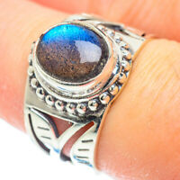 Labradorite 925 Sterling Silver Ring Size 8 Ana Co Jewelry R50759F