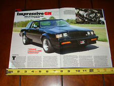 BUICK GRAND NATIONAL GNX ORIGINAL 2019 ARTICLE