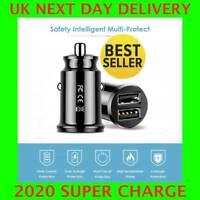 Chargeur prise allume-cigare USB voiture double adaptateur rapide 12v - 32v D1