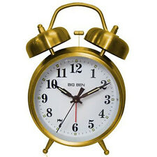 Westclox Big Ben Twin Bell Alarm Clock Gold 70010G
