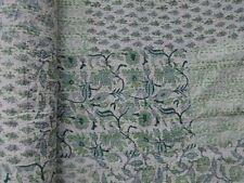 Indian Vintage Patchwork Reversible Queen Kantha Quilt Gudri Bedspread Ralli Art