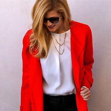 Zara Wool Blend No Pattern None Coats & Jackets for Women