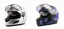 Vega Insight Full Face Motorcycle Helmet w/ Drop Down Sunshield