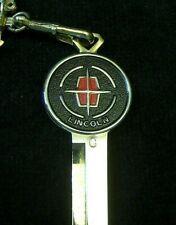LINCOLN Rotunda Gold Crest KEY BLANK 1966-1984 NOS Continental Mark III IV V VI