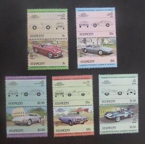 St Vincent 1984 Leaders world automobiles  Cars SG820/9 MNH UM unmounted mint