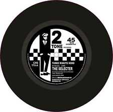 "Ska 2 Tone Exterior Vinyl 7"" 178mm Decals The Selecter Three Minute Hero x 2"