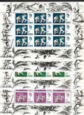 Grenada 1969 - 1998 MNH Souvenir Sheets, Many Royal CV $80+ 2 Gold Stamps