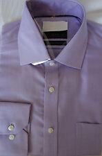 "Ex famous chainstore cotton shirt 15""  regular fit RRp £29.50 Non iron lilac"