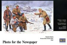 Master Box mb3529 photo for the newspaper, RUSSIAN INFANTRY 1944. scale 1:35