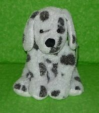 MARY MEYER Plush SWEET RASCALS Puppy DOG White Black Spots Dalmatian Stuffed