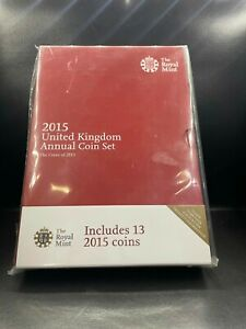2015 Brilliant Uncirculated UK Annual Coin Set Royal Mint Sealed