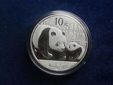 10 Yuan 2011 Panda China aus Silber  W/17/416
