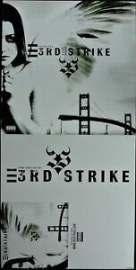 """3RD STRIKE """"LOST ANGEL"""" 2002 POSTER/FLAT 2-SIDED 12X24 ~RARE~ *NEW*"""
