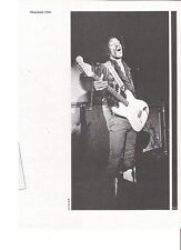 JIMI HENDRIX at Winterland 1968 b/w magazine PHOTO/Poster/clipping 11x8 inches