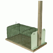 trap for mice in cage wooden and iron cm 13x24 height 9 cm trap mouse