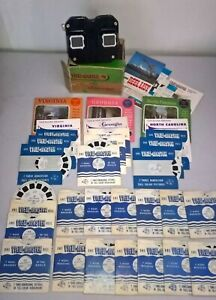 Viewmaster Stereoscope plus 36 Reels