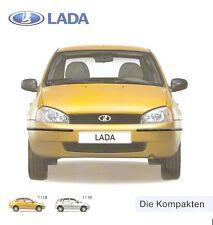 Prospekt / Brochure Lada 1118 1119 09/2007