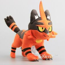 New Pokemon Torracat Nyaheat Litten Evolution Plush Doll Stuffed Animal Toy Cute