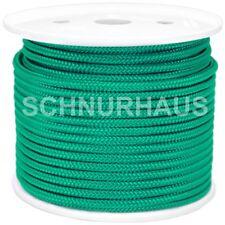 6mm Polypropylenseil 50m grün Seil Tauwerk Schot Reepschnur green rope cord