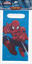 Party Bags SPIDER-MAN Candy Treat Favors Birthday 8 Pk Hallmark S3