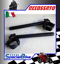 MV AGUSTA 675 F3 2015 > ACCOSSATO RACING CLIP ON HANDLE BARS Ø 50 BLACK