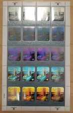 United Nations 2003 New York Definitive 70 cent Hologram stamp sheet - Mnh