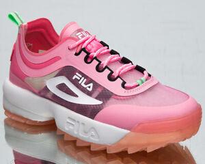 Fila Disruptor Run CB Women's Rosebloom Pink Chunky Lifestyle Sneakers Shoes