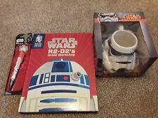 Star Wars Stormtrooper 3D Mug, BB-8 Projector Pen & Make Your Own R2-D2 Droid