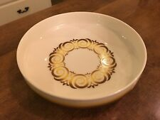 Vintage Noritake Expression ALHAMBRA 7046 9 in. Serving Bowl Yellow Brown EUC