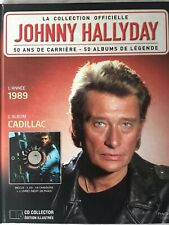 Johnny Hallyday La collection officielle Livre CD Cadillac