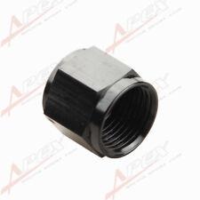 10AN -10 AN AN10 -10AN Flare Cap Caps Block Off Fitting Aluminum Black