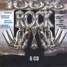 100% Rock (6CDs) Golden Earring, Meredith Brooks, Uriah Heep, Greg K.. [xCD-Set]
