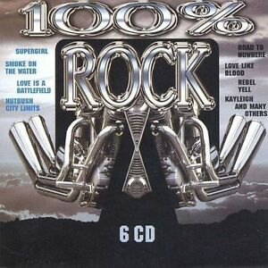 100% Rock (6CDs) Golden Earring, Meredith Brooks, Uriah Heep, Greg K.. [xCD-Set]