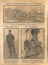 Humour Tirailleur Sénégalais/Austria Artillery Imperial Russia Army 1914 WWI